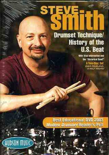 Steve Smith - Drum Set / History Of U.S.Beat [2 DVDs]