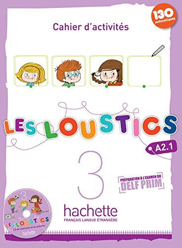 Les Loustics 3 : Cahier d'activités + CD audio par Marianne Capouet