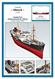 HMV 3370 Kartonmodell Tross-Schiff Altmark