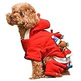 PAWZ Road Hund Katze Haustier Weihnachtsmann Weihnachten Kostüm Winterjacke Pullover Hundejacke Hoodie Wintermantel Hundebekleidung XXL