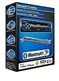 Renault Scenic Lecteur CD, Sony Mex-n4200bt Car Radio Mains Libres Bluetooth
