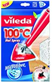 """Vileda 146592 Ersatzbezug für 100 Grad """"Hot Spray"""" und Steam Dampfreiniger, Doppelpack 2x 1-Stück, aus Mikrofaser - bekannt aus TV"""