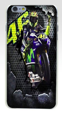 Art Design Hülle für iPhone 7 / iPhone 8 Valentino Rossi VR46 The Doctor Moto VR Soft Silikon