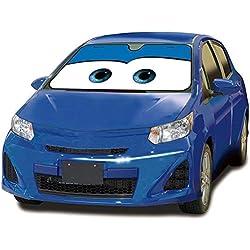 MFEIR Disney Car Blue Pare-Soleil Voiture Bloc Solaire Pare-Chaleur Avant Pare-Brise Ombre Soleil Ombre Voiture d'été Fournitures