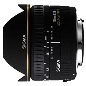 Sigma 15mm f/2.8 Diagonal Fisheye for Sigma Digital and Film SLRCamera