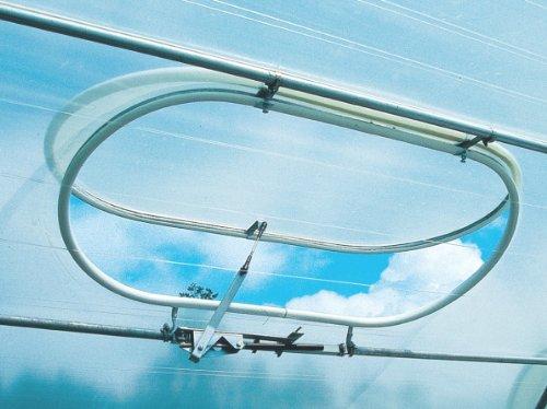 Beckmann Fenster für Foliengewächshaus