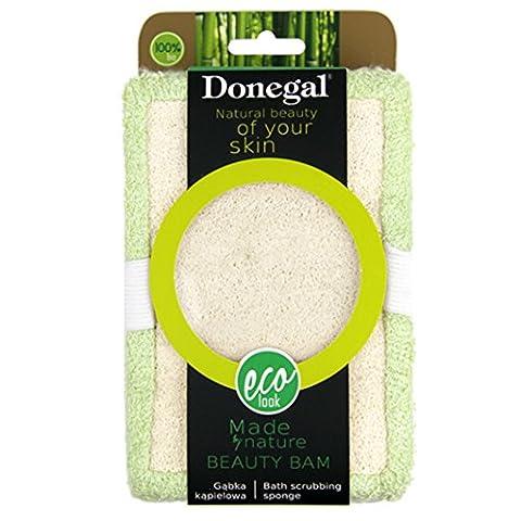Donegal–Beauty Bam Eco Natural Dusche Bad Zubehör Bad Schrubben Schwamm (6321)