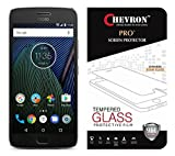 #4: Chevron 2.5D 0.3mm Pro+ Tempered Glass Screen Protector For Motorola Moto G5 Plus