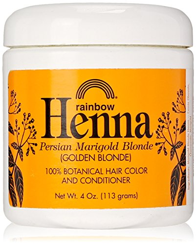 Rainbow Research Henna Persian Marigold Blonde Hair Color and Conditioner Organic 113 g (haarfarben)
