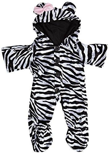 Baue Dein Bears Kleiderschrank 15Zoll Kleider passen Bj Bär Zebra Einteiler (Kostüme Bear A Build)