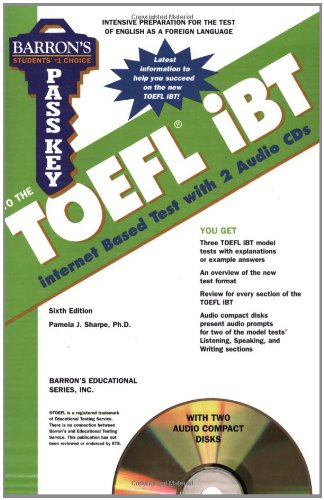 Barron's Pass Key to the TOEFL iBT: Test of English as a...
