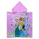 PONCHO Mare Frozen Elsa Anna Disney Asciugamano Accappatoio MICROCOTONE CM. 110X55 - FRO 1030