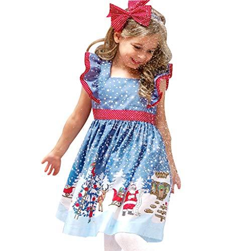 Disney's Schneewittchen Kostüm Baby Ballerina - Likecrazy Kinder Mädchen Weihnachten Kleidung Kleinkind Baby Weihnachten Santa Prinzessin Kleid Ärmellos Partykleid Kinderkleid Festlich Bogen Weihnachten Kostüm