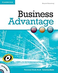 Business Advantage Intermediate Personal Study Book with Audio CD by Marjorie Rosenberg (2012-02-13)