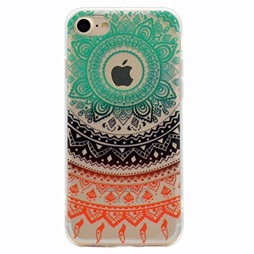 Pheant® Apple iPhone 7 (4.7 pouces) Coque Gel Transparent Cas en TPU Soulple Silicone Couleur-03