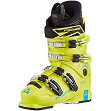 Fischer Niños Ranger 60Jr thermoshape Yellow–Botas de esquí, infantil, Fischer Kinder Skischuhe Ranger 60 JR Thermoshape yellow, amarillo