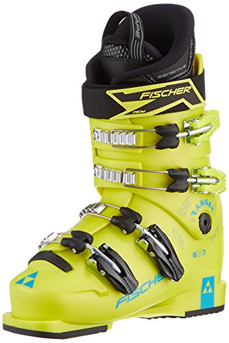 Fischer Kinder Ranger 60 JR Thermoshape Skischuhe, Yellow, 26.0