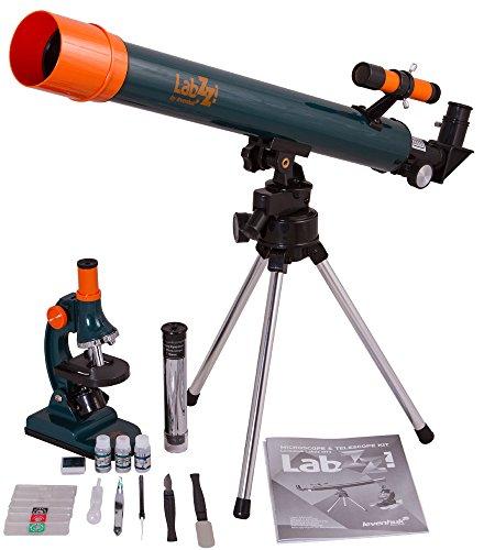 Levenhuk Conjunto de microscopio y telescopio LabZZ MT2