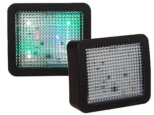 Bada Bing TV Imitator Fernseh Simulator LED Licht Effekt Einsatz Als Einbruchschutz Atrappe Fake Sicherheitsleuchte 648