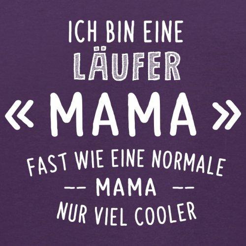 Ich bin eine Läufer Mama - Herren T-Shirt - 13 Farben Lila