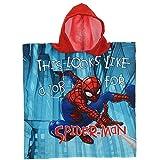 Unbekannt Poncho Meer Spiderman Marvel BADTUCH Micro Baumwolle cm. 100X50 - ER1916 / 2