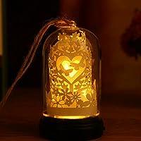 Luz de noche,Usb recargable lampara de noche decoración diseño creativo impermeable regalos noche de luz-B