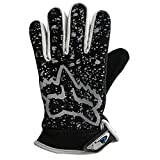 #7: AllExtreme Creations Motorcycle Bike Riding Racing Touch Fashion hand Gloves protact for winter - (Grey)