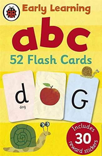 Ladybird Early Learning: ABC flash cards - Ds Flashcard