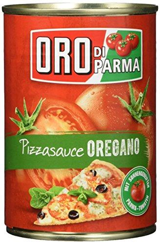 ORO di Parma Pizza Sauce Oregano, 6er Pack (6 x 400 g Dose)