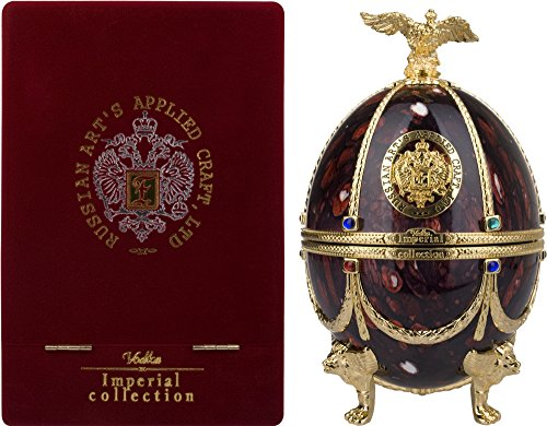 Imperial Collection Vodka Fabergé Ei Rubin mit Geschenkverpackung Wodka (1 x 0.7 l) (Imperial Faberge)