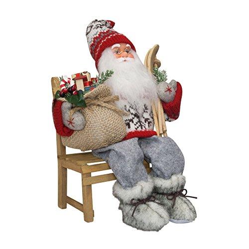 Weihnachtsmann auf fahrrad deko bestseller shop mit top for Top deko shop