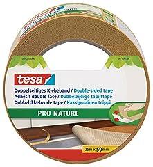 tesa doppelseitiges Verlegeband, ökologisch, 25m