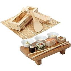 Kit per preparare e servire il sushi