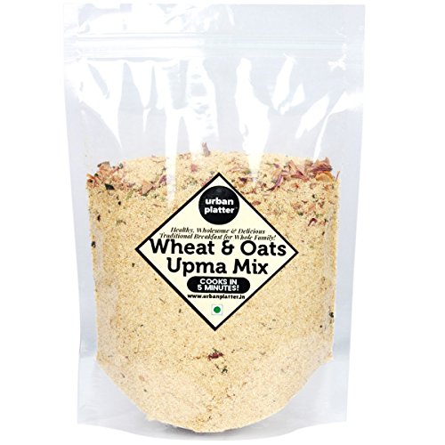 Urban Platter Wheat-Oats Upma Mix, 900g [Healthy, Wholesome, Delicious]