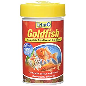 Tetra Goldfish Flakes, Complete Fish Food for All Goldfish, 20 g