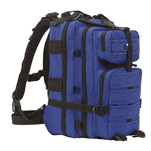 Voodoo Tactical Level III MOLLE kompatibel Assault Pack, unisex, Level Iii Assault Pack, blau
