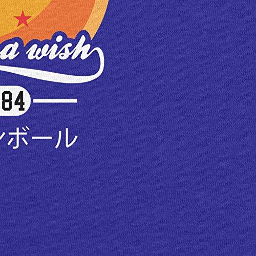 Planet Nerd - DBZ: Make A Wish - Damen Kapuzenpullover Blau