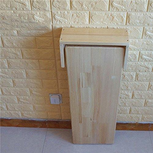 Tavolo pieghevole FEIFEI Tavolo sospeso in legno a parete, cucina e ...