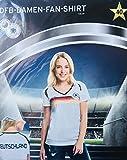 DFB-Damen-Fan-Shirt 4 Sterne Deutschland Weltmeisterschaft 2018 WM Russia T-Shirt Party Trikot