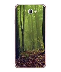 PrintVisa Designer Back Case Cover for Samsung Galaxy J7 (6) 2016 :: Samsung Galaxy J7 2016 Duos :: Samsung Galaxy J7 2016 J710F J710Fn J710M J710H (Lovely Spring Season Beautiful Trees In Forest )