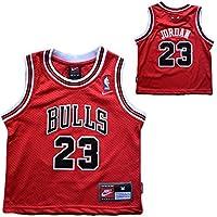 Maglia canotta Bambino NBA - Michael Jordan - Chicago Bulls (5,6 anni)