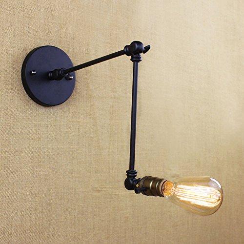 Lwyjrbd applique/lampada da parete/lampada da parete in ferro battuto per lampade da parete in ferro battuto stile 2