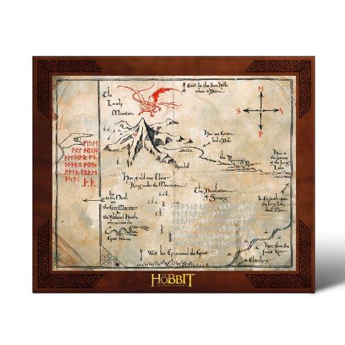 Noble Collection–Der Herr der Ringe: Karte von Thorin (Ringe Der Requisiten Herr)