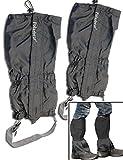 Outdoor saxx®–Par Polainas | Uni Tamaño impermeable resistente, para senderismo, esquiar, maleza Botas de protección impermeable | Juego de 2