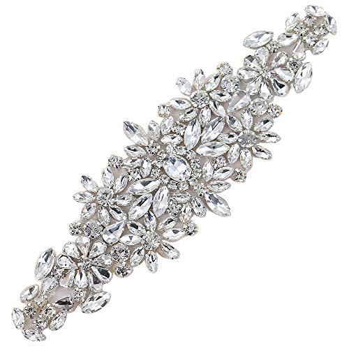 Splendente fascia cristallo rhinestones cintura abito da sposa accessori cintura strass matrimonio
