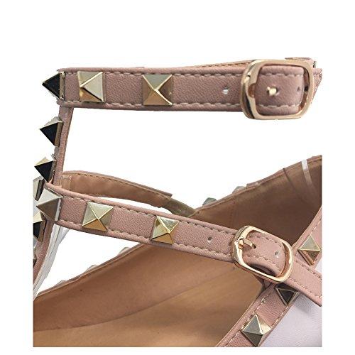 EKS - cintura Donna Apricot-Lackleder