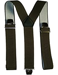 Bretelles unies 3 bandes coloris au choix