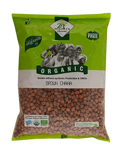 24 Mantra Organic Brown Chana Whole, 1kg
