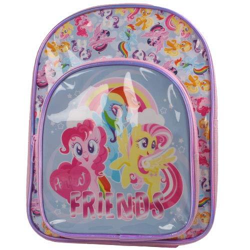 Disney My Little Pony Deluxe Rucksack mit Fronttasche für Mädchen -