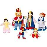 Goki - Familia del Rey, 6 muñecos articulados (Gollnest & Kiesel 51797.0)